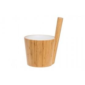 Stävor och skopor   Rento Bastustäva bambu/vit