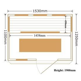 Storlek:1530x1100 x 1900 mm