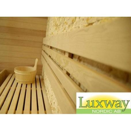 Bastu Traditionell   Rocky sauna traditionell bastu   Traditionell bastuför 3 personer.Storlek:1500x1200x 2000 mmTräslag: