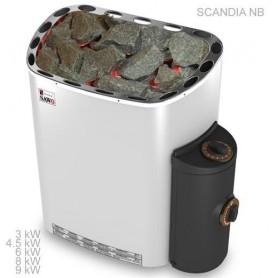 Bastuaggregat Sawo Scandia 4,5 kW - Premium inbyggd styrkontroll
