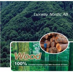 Hemlock, med återplanterad skog