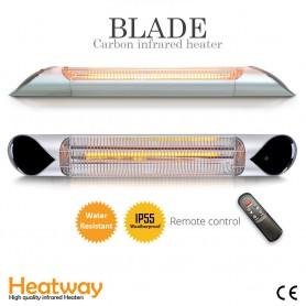 Terrassvärmare Blade Silver 2000W Infravärmare