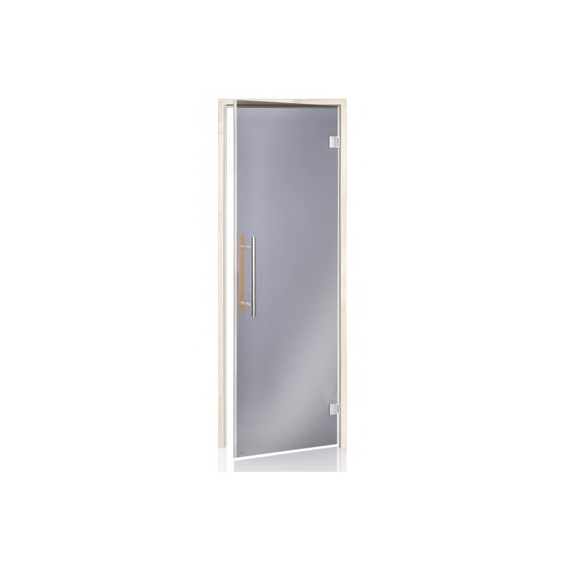 Bastudörr BeneLux med magnetlist 7x20 Grått glas alkarm 3790 - 1