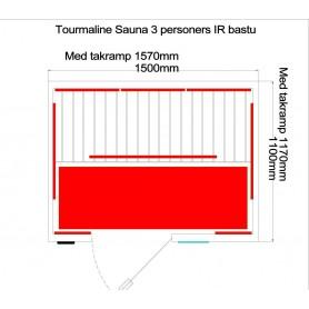 Utgående produkter   Tourmaline IR bastu | hemlock