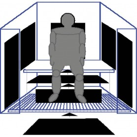 IR- Paneler   IR Panel nr 1, 230W   1020 X 340 MM