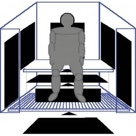 IR- Paneler   IR Panel nr 2, 230W   740 X 490 MM