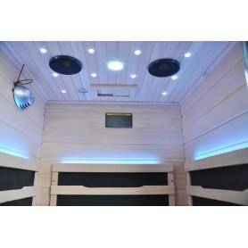 IR- bastu Glossy stjärnljus och led belysning
