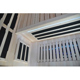 Infrabastu Glossy med led belysning under bänk