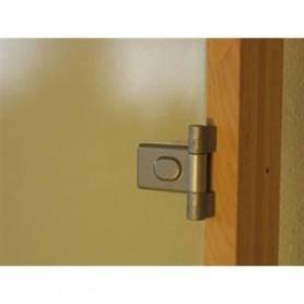 Bastudörrar storlek 9x21   Bastudörr 9x21 Classic med bronsfärgat glas och furukarm