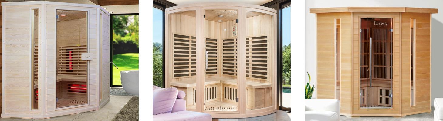 Wellness a sauna with taste